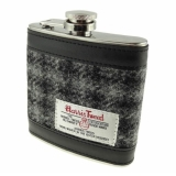 Placatka Harris Tweed 170ml - Grey Black Check