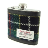 Placatka Harris Tweed 170ml - Dark Green Tartan