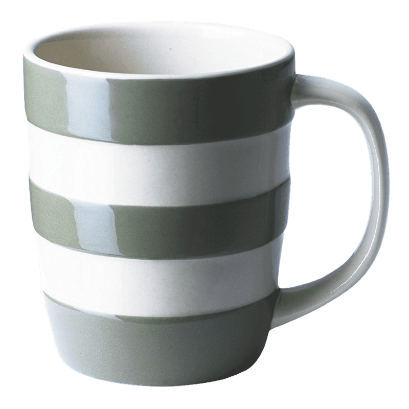 Hrnek Green Stripes 340ml - Cornishware