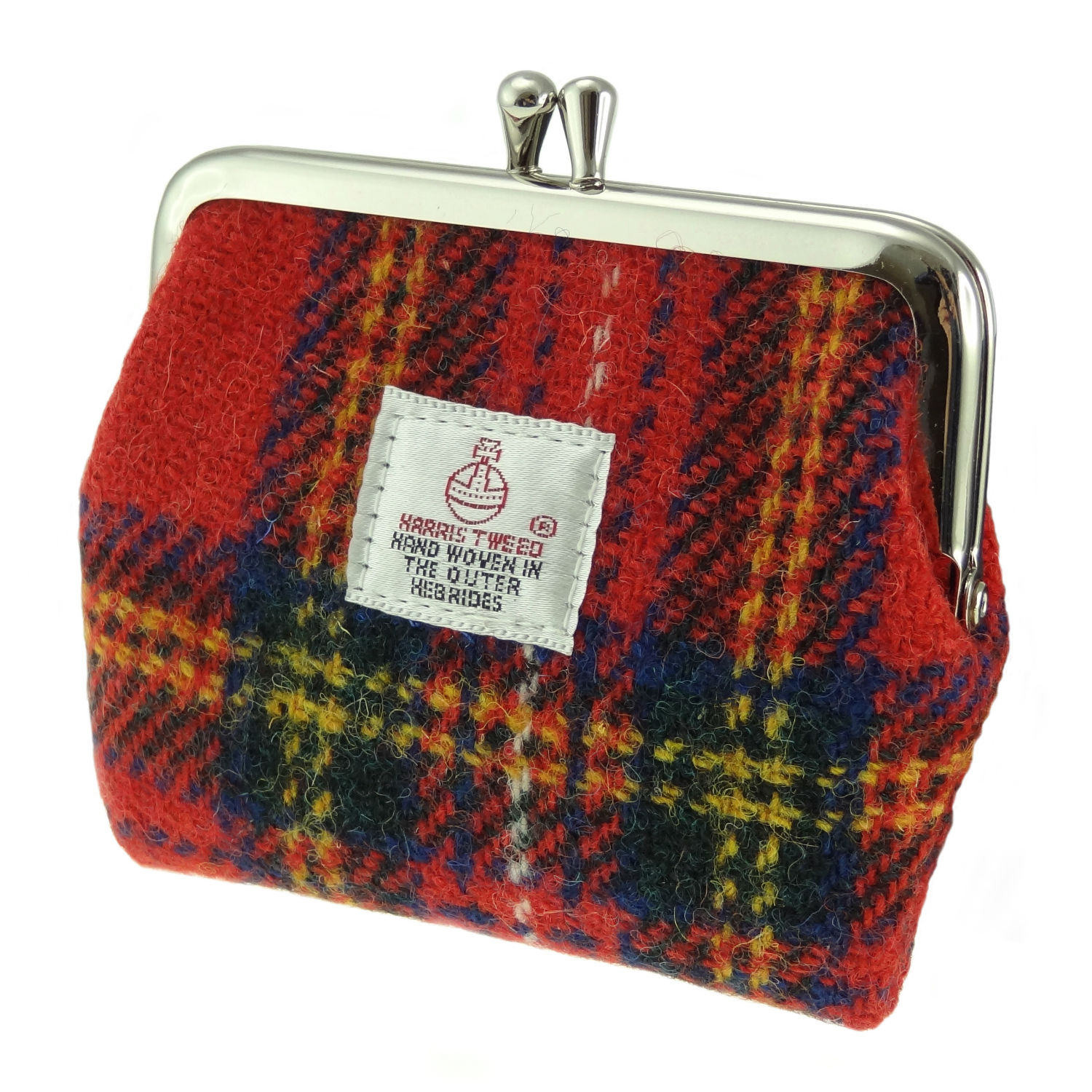 Peněženka Eigg Harris Tweed - Royal Stewart