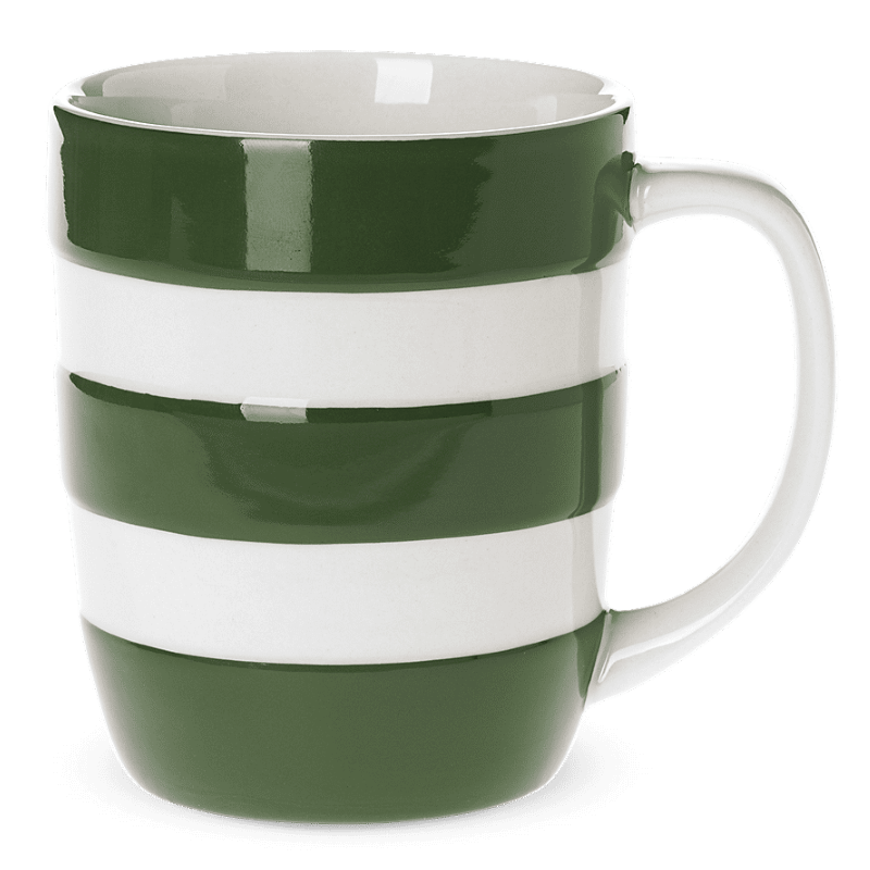 Hrnek Adder Green Stripes 340ml - Cornishware