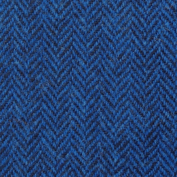 Peněženka Tiree Harris Tweed - Dark Blue Herringbone