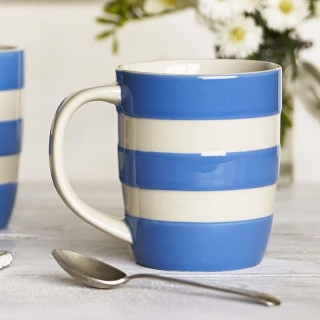 Hrnek Blue Stripes 340ml - Cornishware