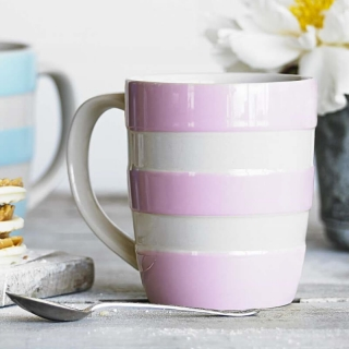 Hrnek Rose Stripes 340ml - Cornishware
