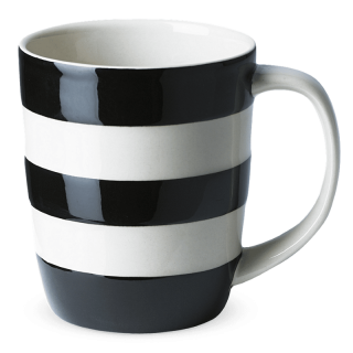 Hrnek Black Stripes 340ml - Cornishware