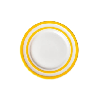 Talíř snídaňový 22cm Yellow Stripes - Cornishware