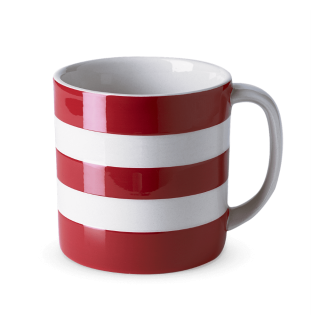Hrnek Red Stripes 420ml - Cornishware