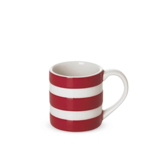 Hrnek Red Stripes 110ml - Cornishware