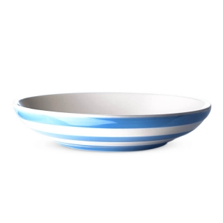 Talíř hluboký 24cm Blue Stripes - Cornishware