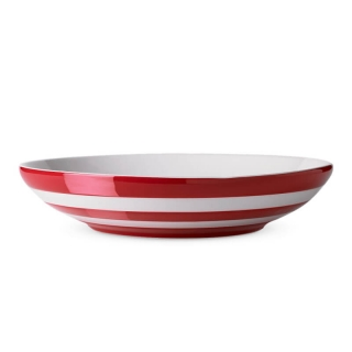 Talíř hluboký 24cm Red Stripes - Cornishware