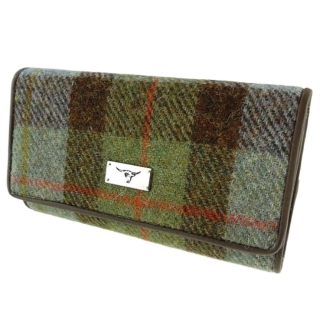 Peněženka Tiree Harris Tweed - Gunn Tartan