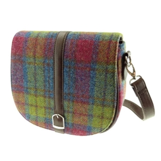 Kabelka Beauly Harris Tweed - Multi Colour Tartan