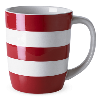 Hrnek Red Stripes 340ml - Cornishware