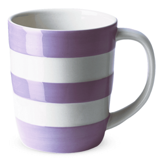 Hrnek Violet Stripes 340ml - Cornishware